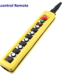 remote control hoist pendant